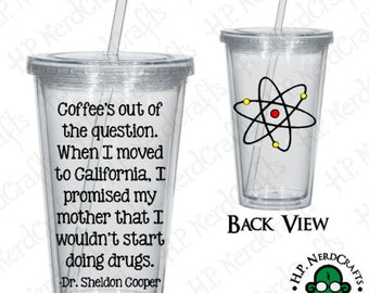 Big Bang Quote Tumbler