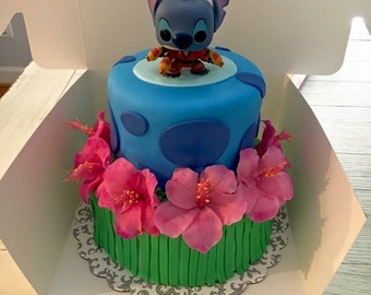Stitch Cake Topper and Decorations