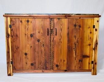 Slate Top Wine Cabinet