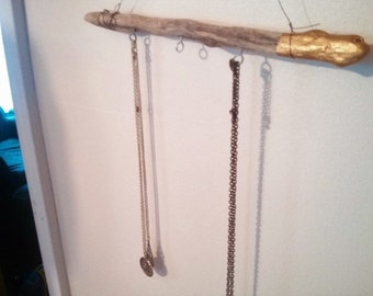 Rustic Driftwood Jewelry Holder