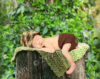 Digital Outdoor Backdrop Forest Tree Wooden Stump Prop Scene Newborn Baby Photography