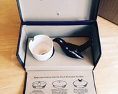 Vintage Royal Worcester Pie Bird 1950's in original box with instructions
