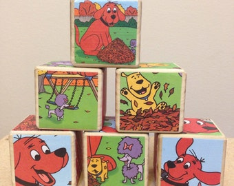 Clifford storybook blocks