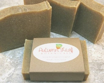 CLEARANCE SALE - Herbal life cold process soap bar, Vegan soap, sweet fennel, basil, rosemary