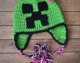 Girls' Minecraft Hat