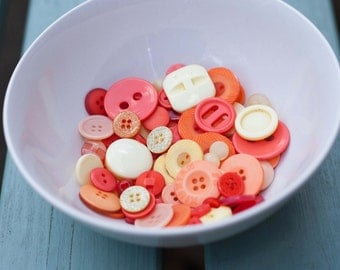 Oranges and Lemons Buttons