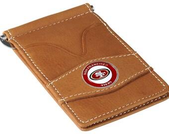 San Francisco 49ers Tan Wallet & Card Holder