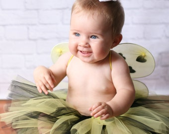 Cute Baby Costume - Toddler Bumble Bee Costume - Baby Halloween Costume - Baby Bee Costume - Cute Toddler Costume - Baby Bee Outfit
