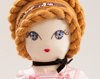 Princess Alexia - Handmade Collection Cloth Dolls by Manolitas