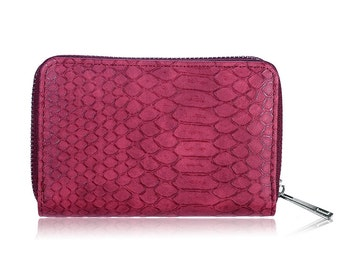 Croco wallet red