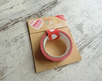 """Washi tape """"red hearts"""""""