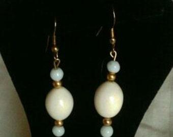 Handmade Earrings Out OF Broken Vintage Jewelry