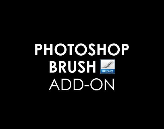 Custom Photoshop Brush Add-on of the Already Created Logo