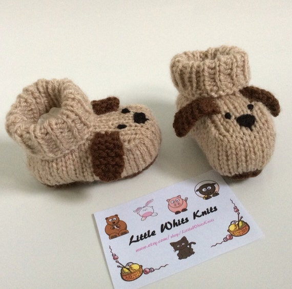 Dog knitted baby booties knitted baby shoes puppy baby boots