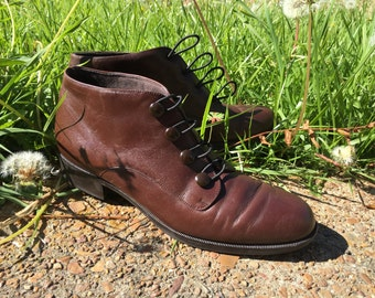 vintage toggle boots / women's size 7