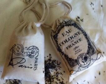 Organic Lavender Sachet - Paris design