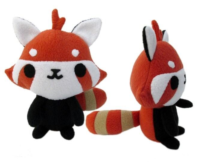 Red Panda Sewing Pattern