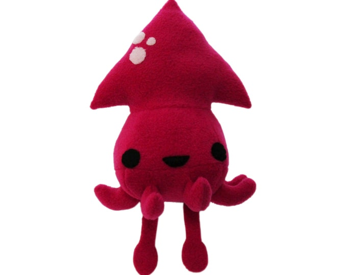 Squid Plush Toy Pattern
