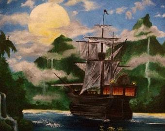 The Lagoon....fine art with a twist/ship