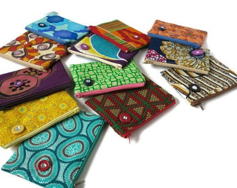 Sale 50% off Ankara mini zipper pouch/coin purse