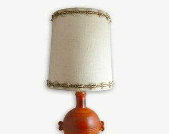 ON SALE Vintage lamp, ceramic lamp