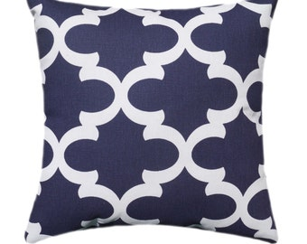 Navy Blue Pillow Covers, Navy Throw Pillow Covers, 18x18 20x20 22x22 24x24 Pillow, Navy Accent Pillow, Decorative Pillow Cover, Navy Sham