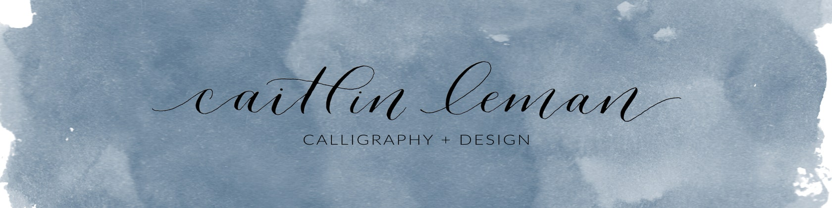 Calligraphy Design By Caitlinleman On Etsy