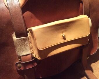 Leather glasses case for Satchels