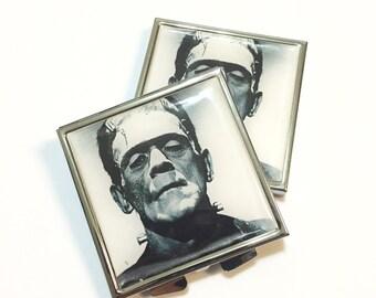 Frankenstien Pocket Mirror