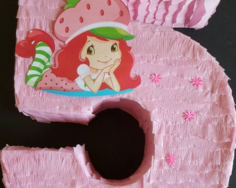 Strawberry shortcake Pinata
