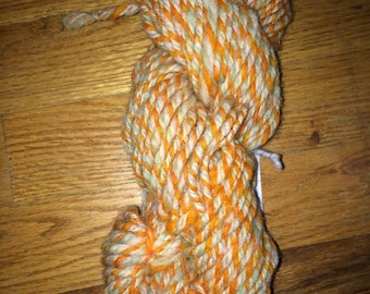 100% Wool Hand Spun in Citrus Splash Colorway