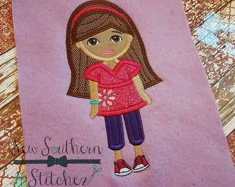Teen Dora Applique Design ~ Dora grew up ~ Instant Download