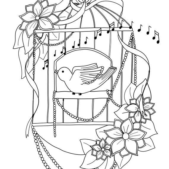 a4 coloring pages - photo #40
