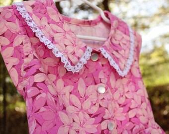 Pink Floral Sundress Size 4