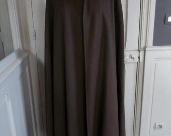 Yves Saint Laurent - rive gauche - cape long vintage - 70 years - 38 to 42 FR