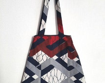 Geometric cotton, double bag