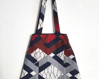 Geometric cotton, double bag