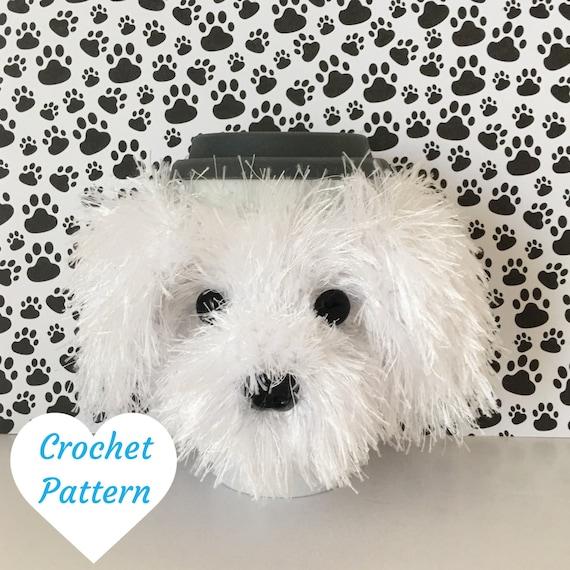 Crochet Pattern Dog Crochet Maltese Amigurumi by HookedbyAngel