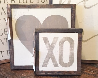MINI XO Sign