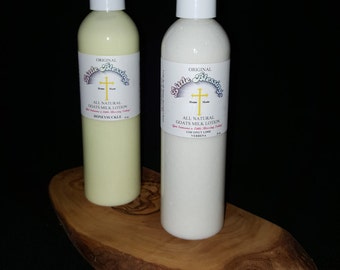 Home Made Goat's Milk Lotion (8 oz)