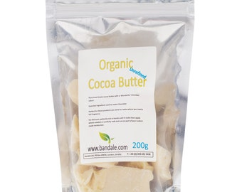 Raw Cocoa Butter 200g
