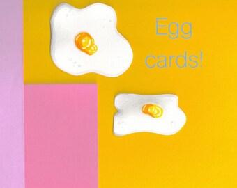 Fried Egg Cards