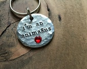 Funny Personalized Dog Tags for Dogs I'm An Animagus Pet ID Tag