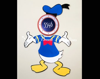 Donald Duck Stateroom Door Magnets for Disney Cruise