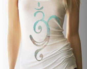 Yoga Tank. Om Tank. Om Tank Top. Om Shirt. Workout Tank. Yoga. Yoga Shirt. Yoga Clothes. Yoga Clothing. Yoga Top. Yoga Tank Top. Yoga TShirt