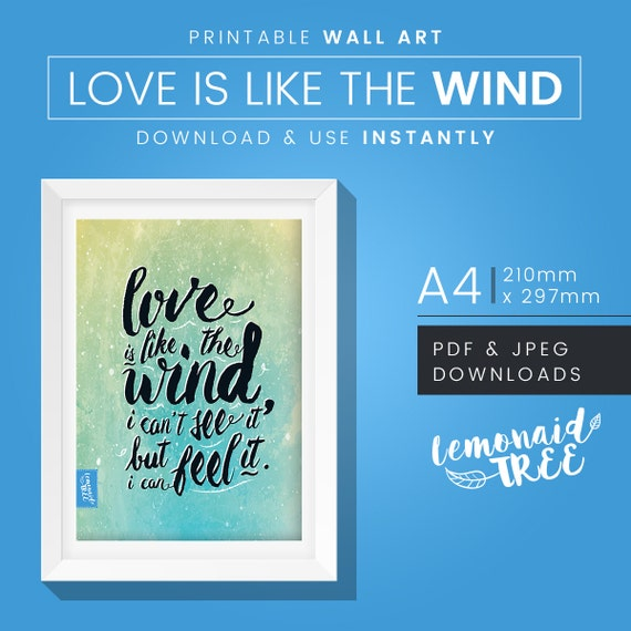 a walk to remember quotes love is like the wind - photo #22