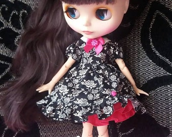 Blythe dolls dress, Blythe outfit, Blythe dress