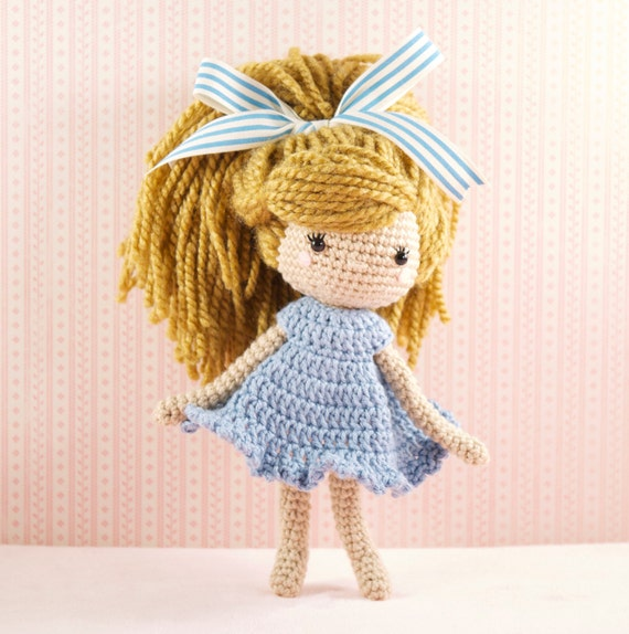 Amigurumi crochet doll Emmy-Lou crochet doll by ...