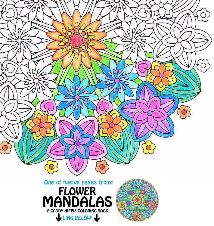 Mandala Coloring Page Flower Epiphany Printable Art To