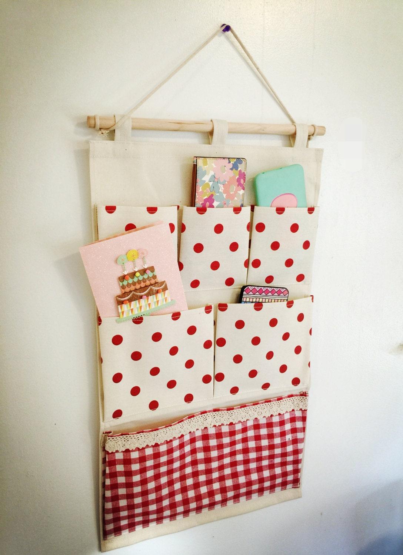 Wall Or Door Fabric Pocket Hanging Organizer Customize Made
